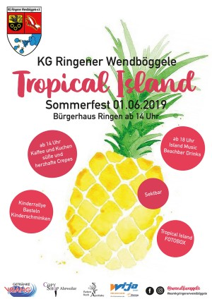 Sommerfest Tropical Island