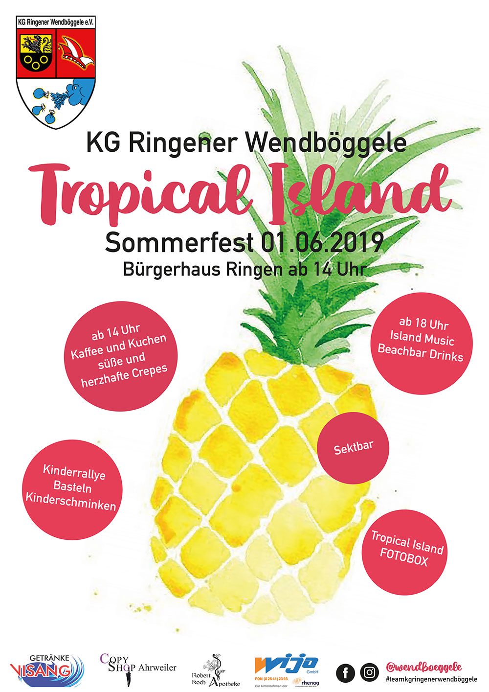 "Sommerfest ""Tropical Island"""